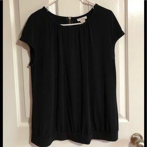 EUC Worthington black blouse extra large XL